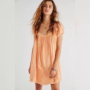 NWT Free People Angele Mini Dress